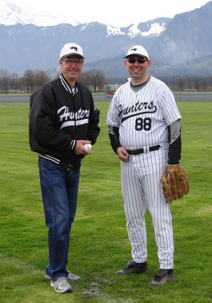 Chris Wells (links) & Kurt Reinhard