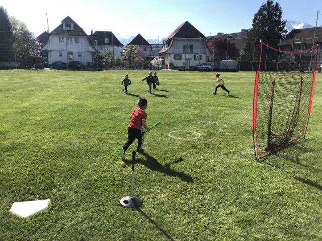 Baseball Ferienkurs für 6 -8 Jährige
